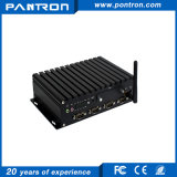 Mini PC encaixado industrial da caixa com átomo N2800 de Intel