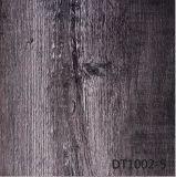 Pavimentazione di lusso delle mattonelle del vinile di scatto di Spc di standard europeo