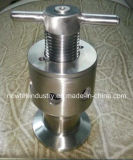 Válvula de escape sanitaria del aire de Triclamp de la fermentadora del acero inoxidable