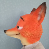 Latex de caoutchouc Halloween Party Favorite Cosplay Fox Mask