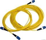St di fibra ottica dello Sc FC LC del cavo di zona