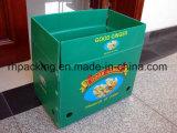 Cuatro caja abierta / reciclable de polipropileno Caja corflute Fruit 5 mm 3 mm 4 mm con los clavos ulterior elaboración