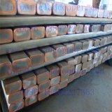 barra de aço folheada de cobre folheada do aço 316L inoxidável para a indústria de aço Electrowinning do ouro/cobre