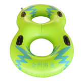 Adult double person PVC Inflatable Water ski tube for Water park Slide