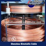 Película tripla chinesa fio de alumínio folheado de cobre esmaltado