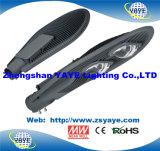 Lámpara del camino de la MAZORCA luz/100W de calle de la MAZORCA 100W LED de la garantía de Yaye 18 Ce/RoHS/3years LED con USD52.5/PC
