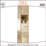 高品質PVC木製の穀物の卸売の浴室用キャビネットの虚栄心