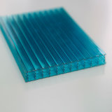 Azotea plástica transparente plástica de Multiwall de la materia prima de Bayer Sabic