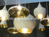 Hot Sale Modern Wood & Aluminum Pendant Lamp para iluminação da sala de estar