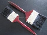 Естественная ручка щетки краски щетинки красная деревянная
