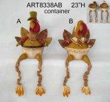 Regalo di festa con le gambe lunghe della Modello-Raccolta della Turchia