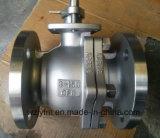 APIの鋳造物Ss CF8のフランジが付いている産業球弁は終了する(Q41F-150LBP-3)
