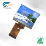 """3.5 """" 24 Bildschirmanzeige der Bits RGB-Betrachtungs-Winkel-12:00 Noten-TFT"""
