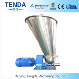 Alimentador de tornillo gemelo Co-Giratorio para el material del polvo