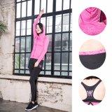 Sportswear da ioga do treinamento do poliéster do Spandex da ginástica da cor camuflar das mulheres