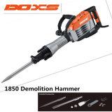 Martelo profissional forte da demolição do disjuntor 1650W da demolição da potência