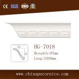 天井のために形成する白いカラーポリウレタン室内装飾