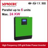 Inverseur intrinsèque d'énergie solaire de contrôleur de MPPT Soalr avec l'écran LCD