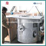 Forno di fusione di inclinazione meccanico di induzione per rame ed alluminio