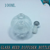 100ml Esfera Fancy Clear Crystal Ball Stopper Glass Reed Difusor Garrafa