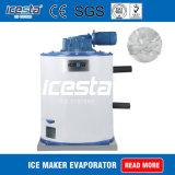 Corpo cilindrico vaporizzatore raffreddato ad acqua per la macchina del creatore della neve