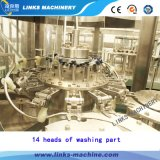 Máquina de enchimento automática giratória de alta velocidade da água 3 in-1