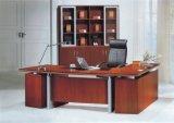 固体木のベニヤの執行部の机の現代オフィス用家具(NS-SL041)