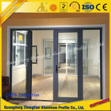 Porta de alumínio personalizada T5 e indicador do perfil de alumínio dos fabricantes 6063