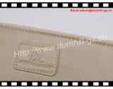 Met de hand gemaakte Echte Jonge Dame Zipper Purse From Guangzhou Fabriek van het Leer