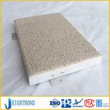 Steinlack-Aluminiumbienenwabe-Panel für Baumaterialien
