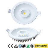 El panel doble cuadrado Downlight del color LED de RoHS 8W del Ce