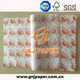 бумага Pakcing качества еды 17-23GSM напечатанная OEM просвечивающая для сбывания