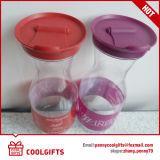 De duidelijke Fles van de Wijn van het Huisdier 750ml/1000ml Plastic, De Kruik van het Vruchtesap