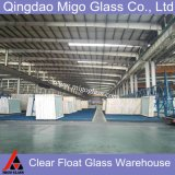 fornecedor desobstruído liso do vidro de flutuador da alta qualidade de 2-19mm