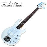 Гитара нот/5-String Hanhai белая электрическая басовая с перлой Pickgaurd
