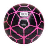 Kundenspezifischer schwarzer Marken-Trainings-Fußball-Kugel-Großhandelsverkauf
