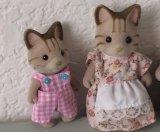 Sylvanian Family Plush Stuffed Toy Doll para presente