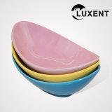 Moldes coloridos ovales de la torta de la porcelana del precio de fábrica para la venta