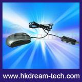 Mouse ottico con la fessura per carta di memoria ed i mozzi (MB02)