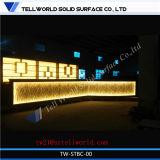현대 상한 광고 방송 LED 점화 L 모양 대중음식점 바 카운터