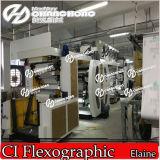 6 de Machine van de Druk van de Printer van Flexo Ci van de kleur (Centrale Trommel)