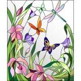 装飾的で物質的な花の販売のために壁壁のステンドグラスのモザイク