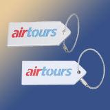 Étiquette en aluminium de bagage (L060)