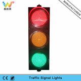 Luz de señal de tráfico verde amarilla roja de la alta calidad 300m m verde