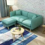 Sofá de tecido Ikea de estilo europeu (8811)