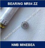 NMB Minebeaのミニチュア深い溝のボールベアリングMr84 Zz