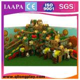 Деревянная мягкая спортивная площадка ягнится крытое (QL--033)