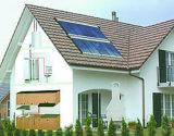 Système pressurisé par fente de capteur solaire de caloduc EN12975 (AKH)