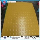 pavimentazione di gomma del PUNTINO della moneta di 3mm dello strato di ginnastica di gomma rotonda del pavimento