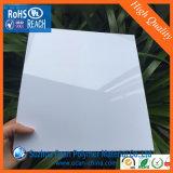 Feuille rigide lustrée blanche de PVC pour la formation de Vocuum